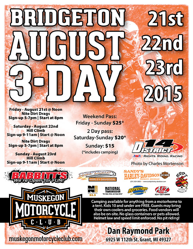 MMC August 3 Day Hillclimb and dirt drags