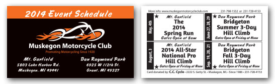 2014 Punch Card