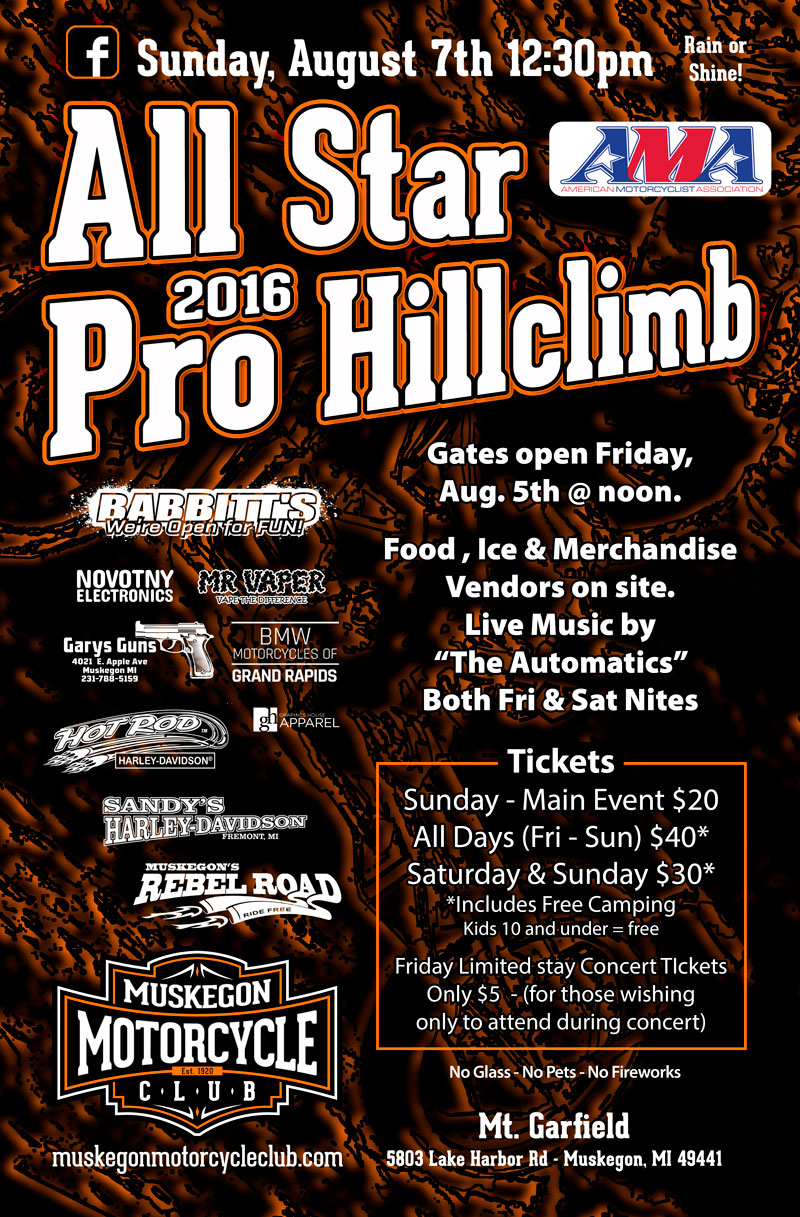 All Star Pro Hill Climb2016